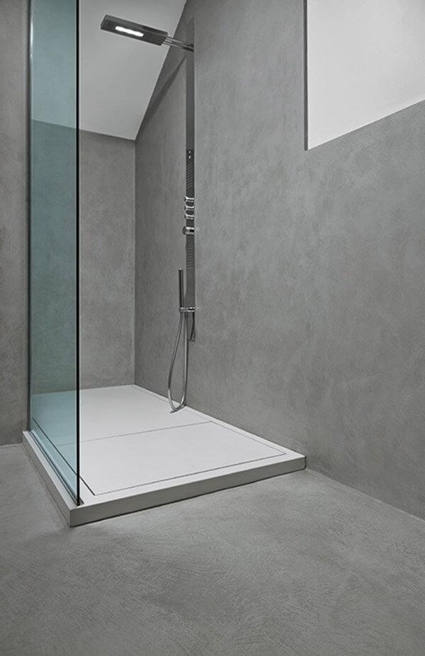 Fugenlose Dusche im Raum Mannheim